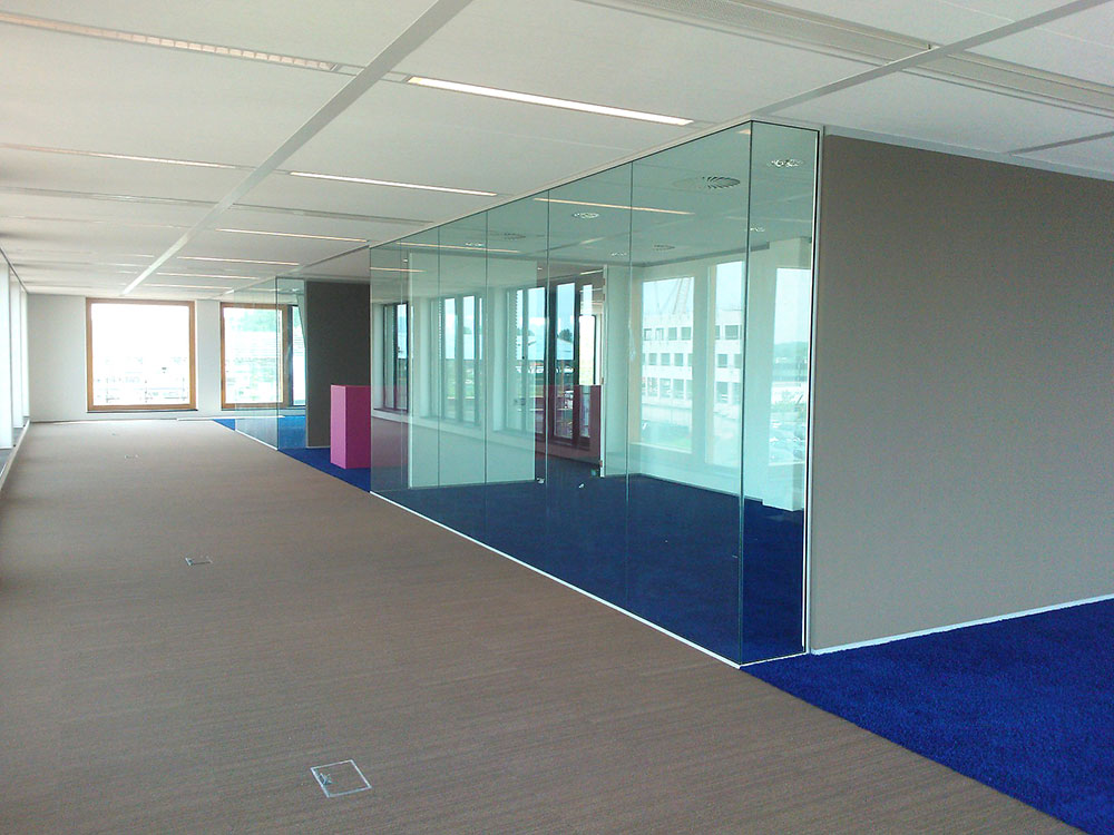 Kantoor v7 glashandel verloop - Kantoor transparant glas ...